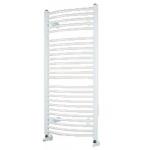 Rebríkový radiátor biely