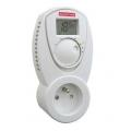 Zásuvkový izbový termostat