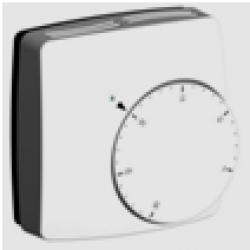 Izbový termostat s ručnou reguláciou NC, 230V